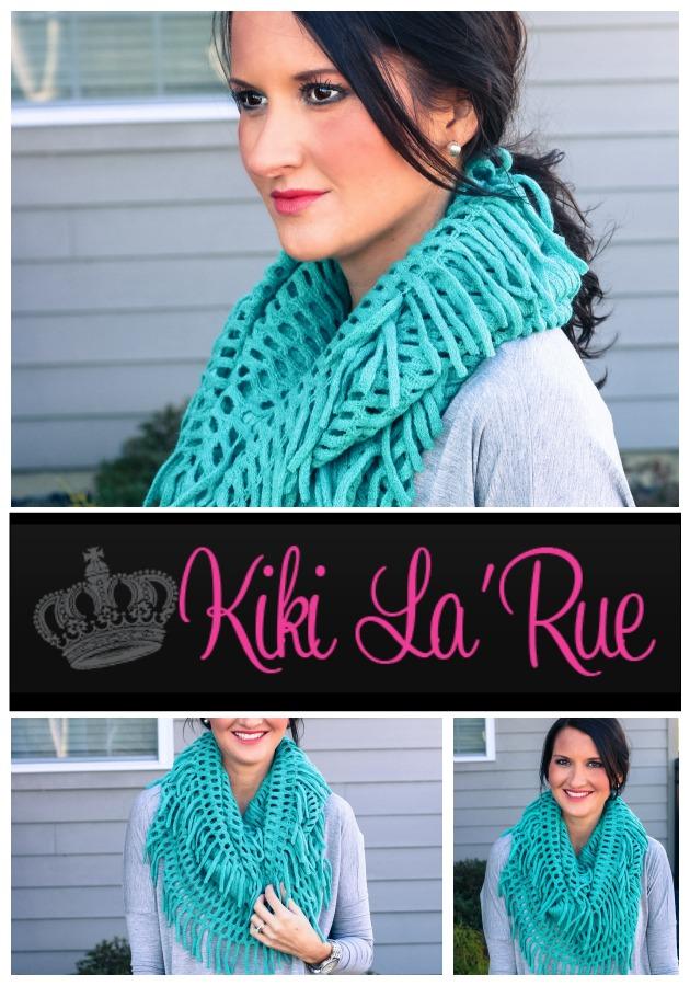 Fashion for Winter - Infinity Scarf by Kiki La' Rue